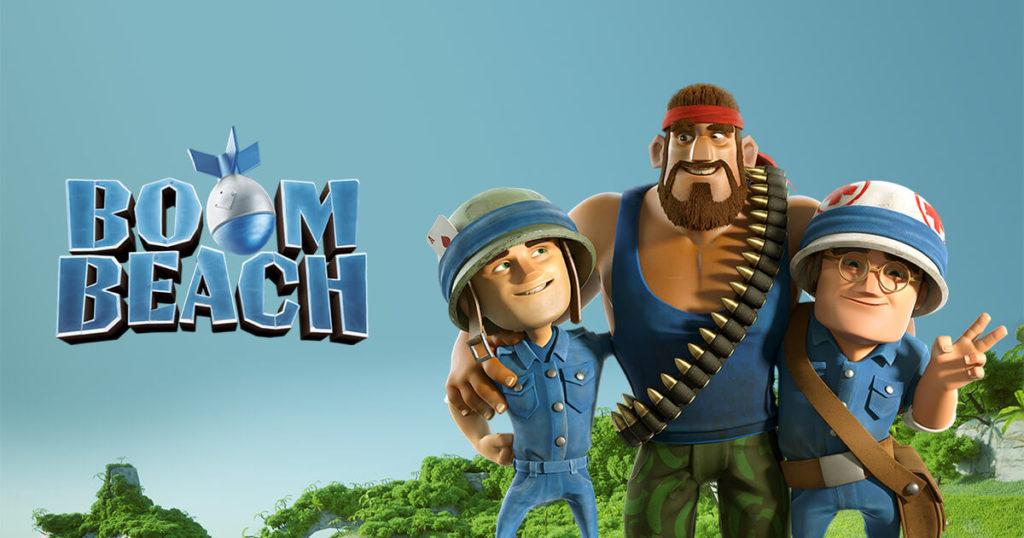 Boom Beach rts game