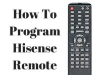 universal remote control for hisense tv