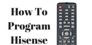 universal remote control for hisense tv