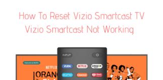 Vizio Smartcast Not Working
