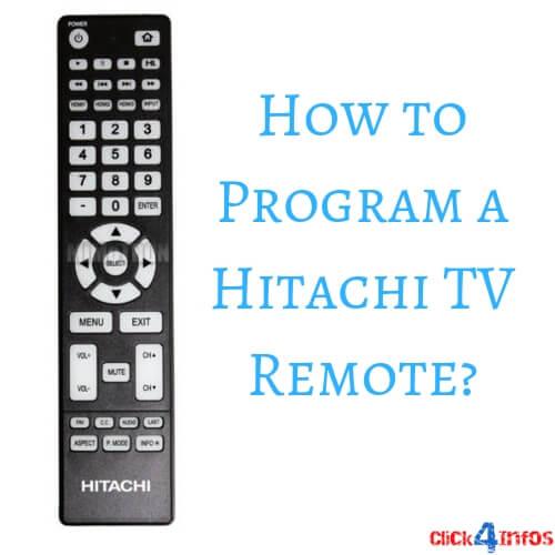 hitachi remote codes
