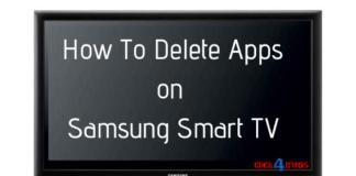samsung smart tv remove apps