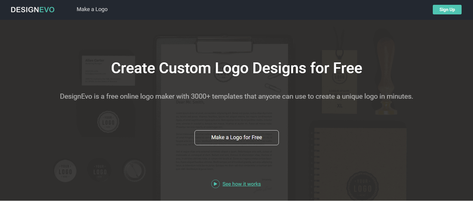 Designevo Review A Free And User Friendly Online Logo Maker