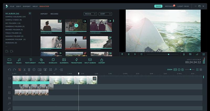 Filmora free video editor