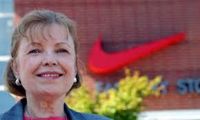 Carolyn Davidson Nike logo