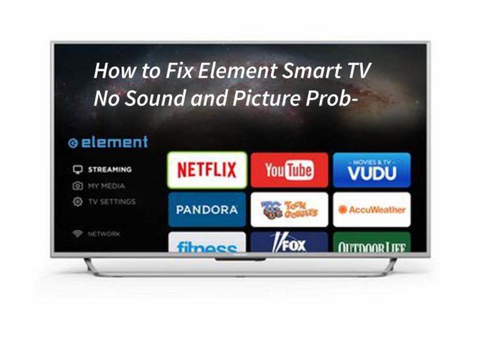 Element smart tv no sound