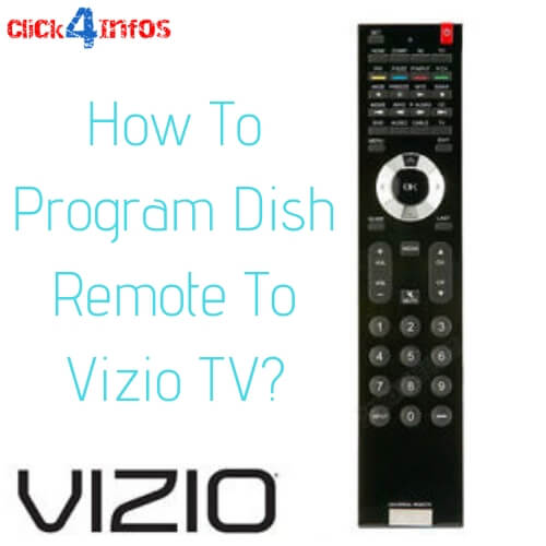 how to program a dish remote to a vizio tv