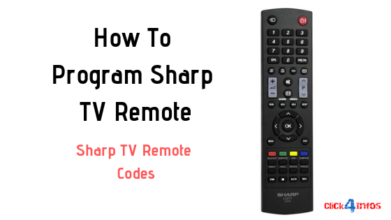 How To Program Sharp TV Remote | Sharp TV Remote Codes
