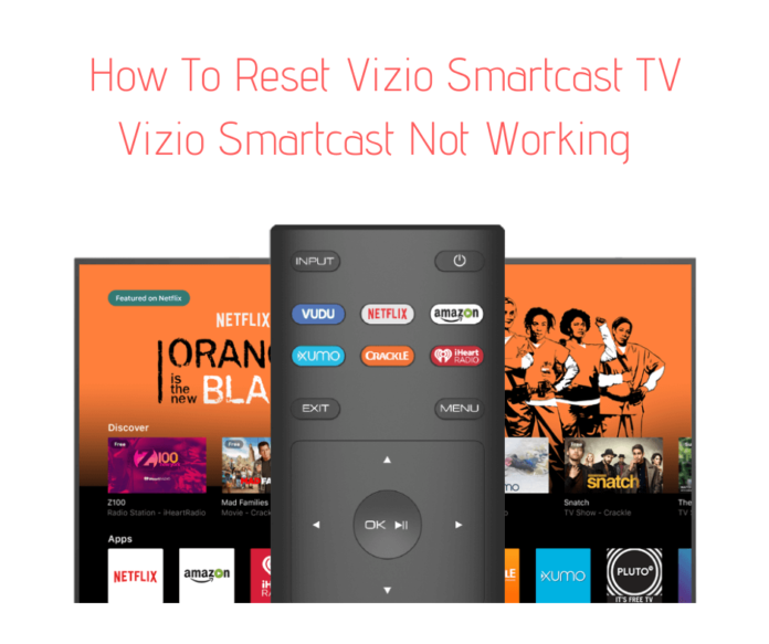 Vizio Smartcast Not Working