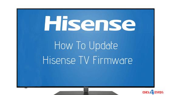 Update Hisense TV Firmware