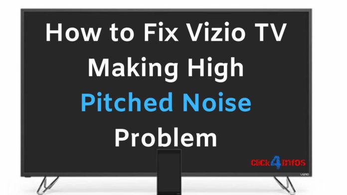 vizio humming noise problem