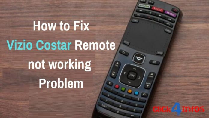 Vizio costar Remote not working Problem