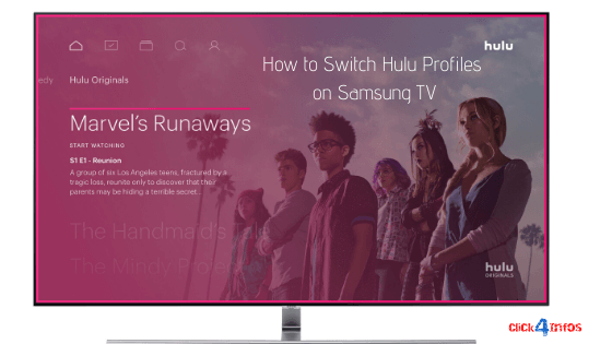 How to Switch Hulu Profiles on Samsung TV