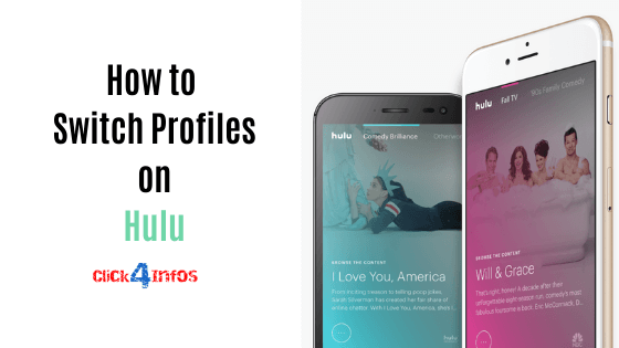 how to switch profiles on hulu