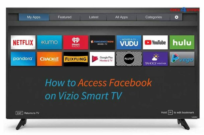 How to access Facebook on Vizio Smart TV