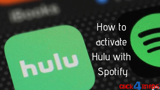 How to activate hulu with spotify