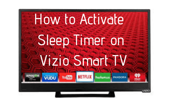 vizio sleep timer