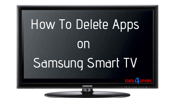 How to delete apps on Samsung Smart TV
