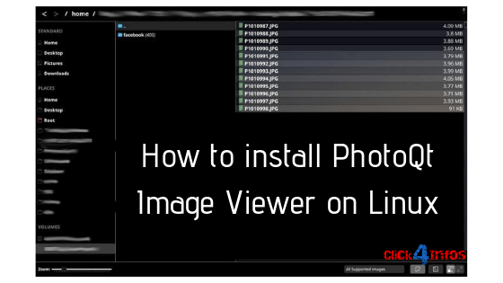 PhotoQt Image Viewer on Linux