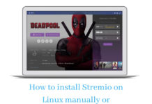 install Stremio on Linux