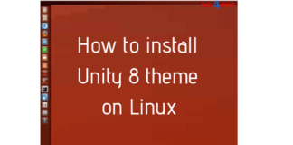 How to install Unity 8 theme on Linux