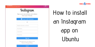 How to install an Instagram app on Ubuntu