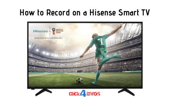 How to record on a hisense smart tv