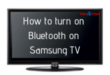samsung tv bluetooth
