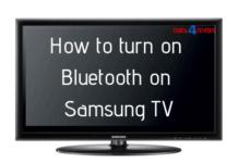samsung tv bluetooth