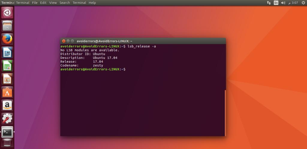 Ubuntu 17.04 via terminal (server and desktop)