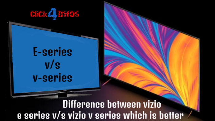 e series vs v seies