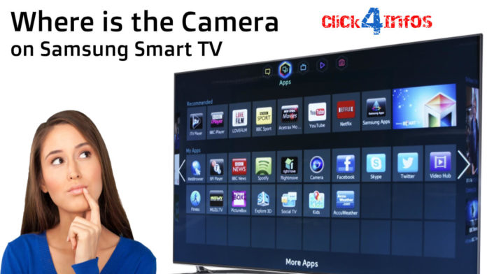 Where is the Camera on Samsung Smart TV