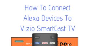 control vizio tv with alexa