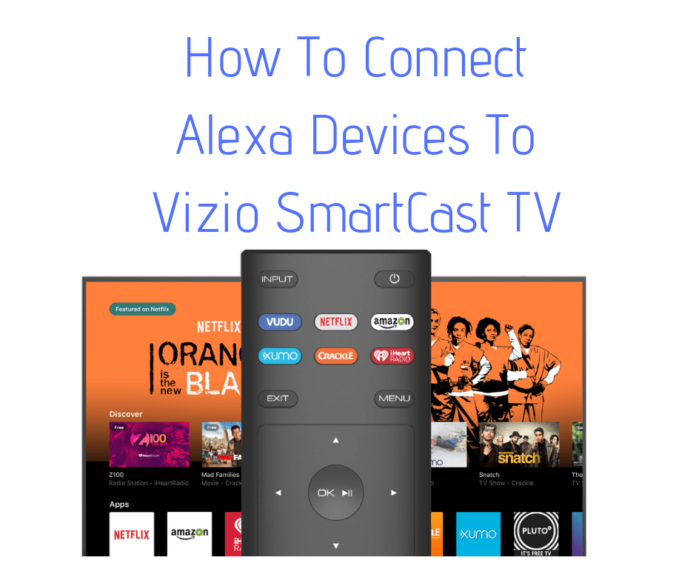 control vizio tv with alexa