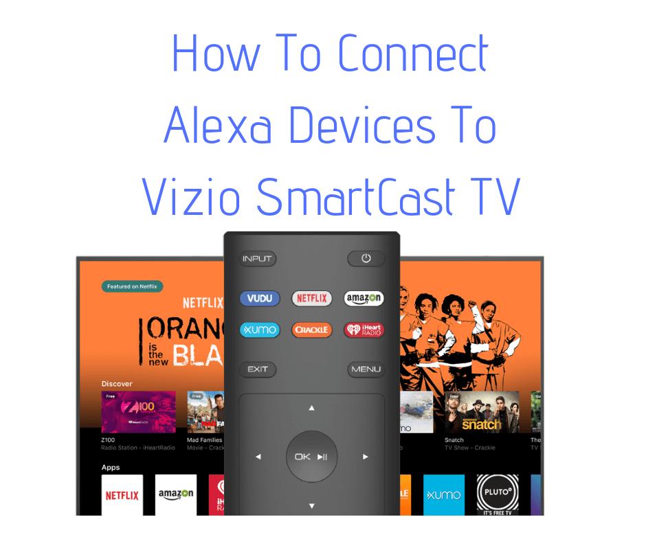 How To Connect Alexa Devices To Vizio SmartCast TV