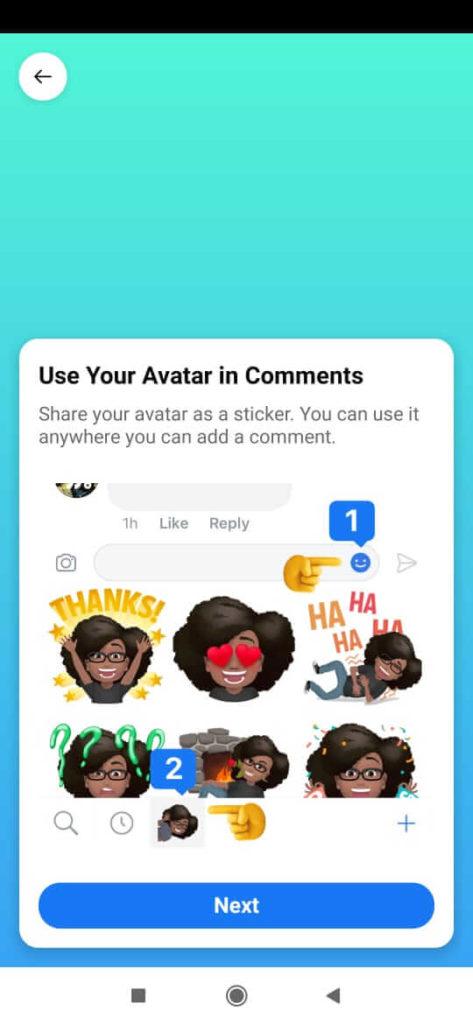 avatar sharing
