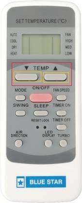 bluestar ac remote control unlocked