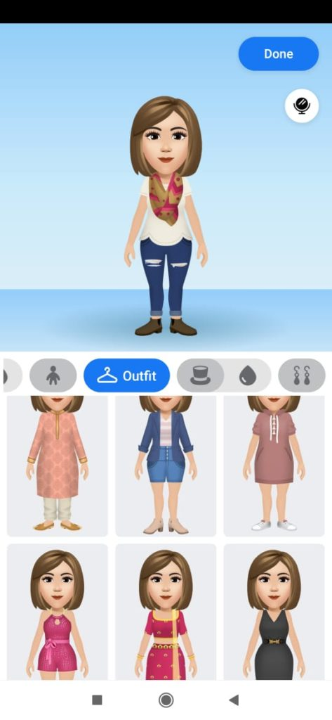 creating fb avatar