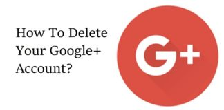 how to delete g+ account