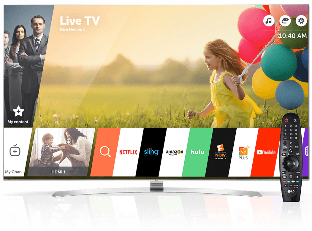 How to install and uninstall applications on your LG Smart TV