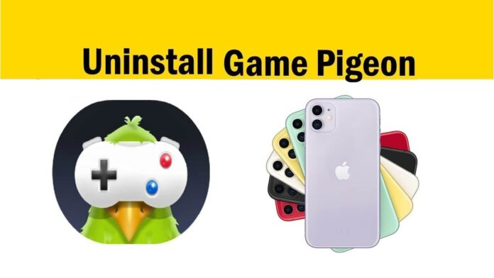 how do you delete game pigeon