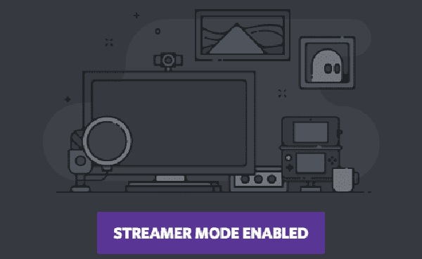 how to enable streamer mode in Discord