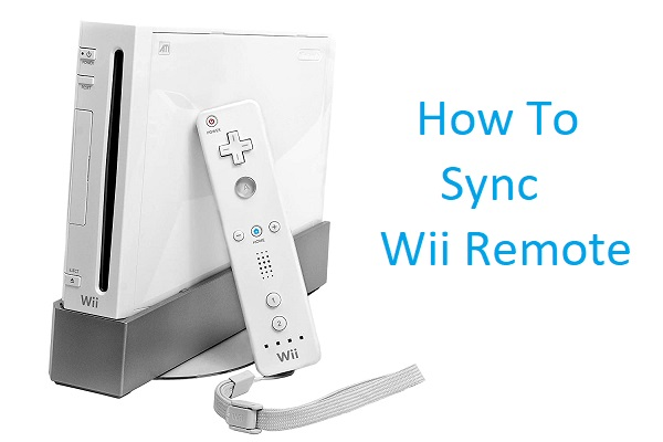 how to sync wii remote
