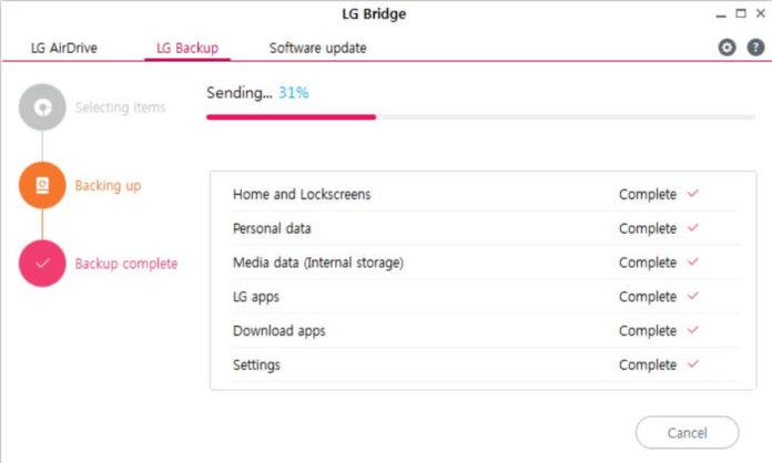 lg bridge software