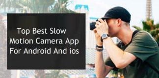 slow motion app
