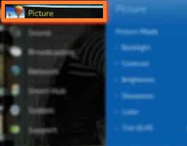 split screen samsung tv picture