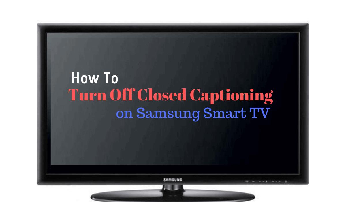 turn off closed captioning apple tv