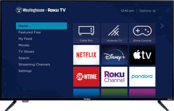 westinghouse tv adding apps
