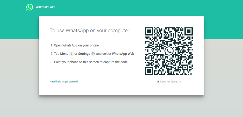 How to use WhatsApp Web to use WhatsApp from your browser