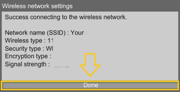 wifi confirmation